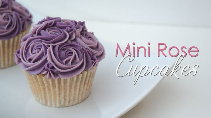 Mini Rose Cupcake - Piping Technique Tutorial