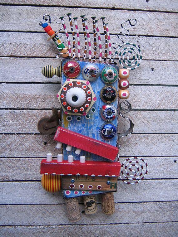 Found object art. #artsed #arted