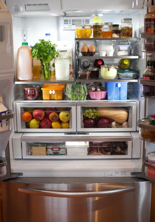 Simple Bites Kitchen Tour: Fridge U0026 Freezer Organization Kimu0027s Input  I  Want Aimee To Organize My Fridge. And The KitchenAid Fridge Is Gorgeous.