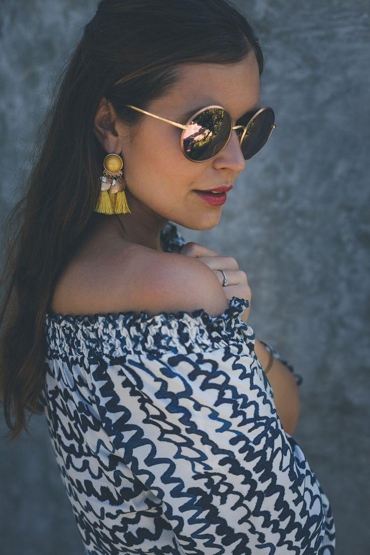 runde Sonnenbrille von Dolce & Gabbana