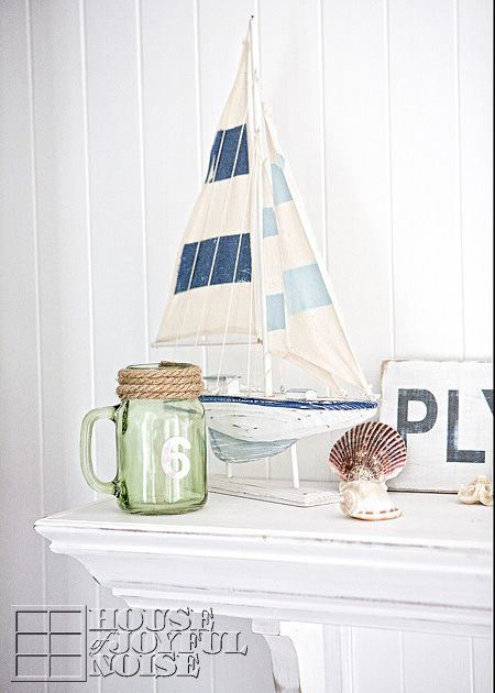 Decor Ocean Summer Mantels Summer Beach Mantel Decorating Ideas