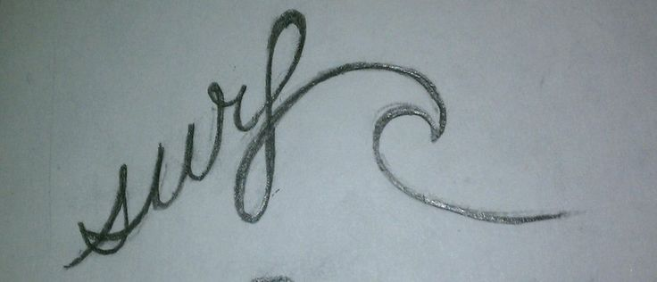 surf tattoo