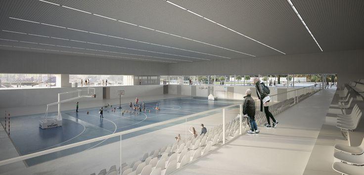 Complexe sportif de Bellegrave - Pessac - Bohuon Bertic Architectes