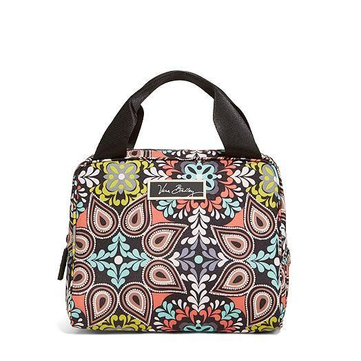 Lighten Up Double Cooler Lunch Bag in Sierra | Vera Bradley $34