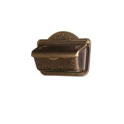 Gibraltar Mailboxes Olde Towne Bronze Wall-Mount Mailbox-CAH304BZ - The Home Depot