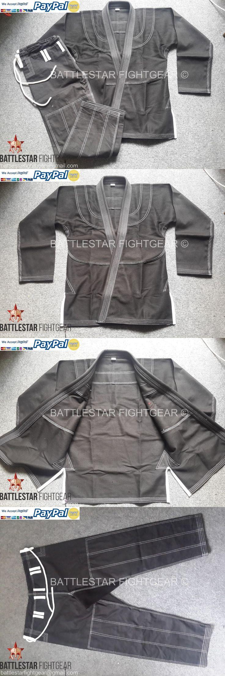 Uniforms and Gis 179774: Shoyoroll Cut Black Plain No-Logo Brazilian Jiu-Jitsu Gi Bjj Kimono A1,A2,A3,A4 -> BUY IT NOW ONLY: $80 on eBay!