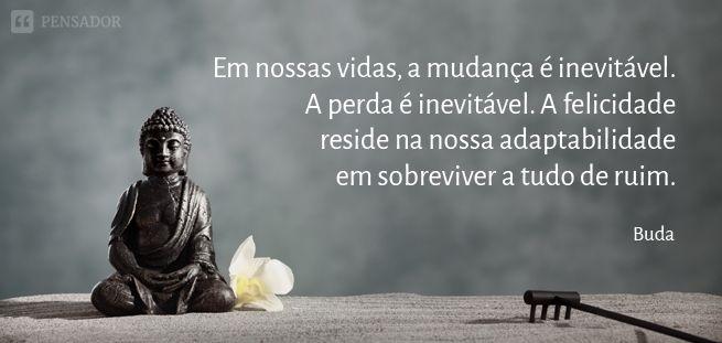 10 Frases de Buda que vão inspirar a sua vida Mudança Vida Perda Inevitável Sobreviver, sobrevivência