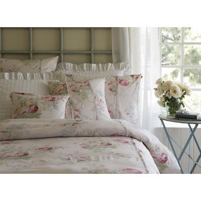 Taylor Linens Shore Rose Petal Sham & Reviews | Wayfair.ca