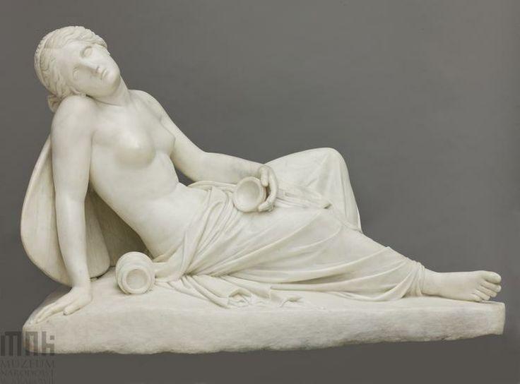 Jakub Tatarkiewicz studiował u Thorvaldsena w Rzymie; posąg pt Psyche Omdlewająca