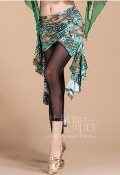 Sexy femme de danse du ventre chaîne de taille paon imprimé léopard de danse indienne jupe hanche douce écharpe pour Bellydancing Costumes vêtements dans Danse du ventre de Nouveauté et une utilisation particulière sur AliExpress.com | Alibaba Group