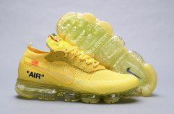 0fcbc662f59db Nike Air Vapormax Fk off-white Lemonade Yellow AA3831 200 Men s Running  Shoes