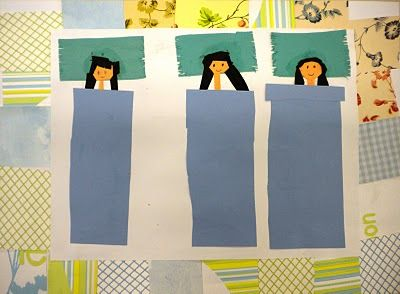 2nd Grade: Memory Quilts & Faith Ringgold                                      We began this lesson by