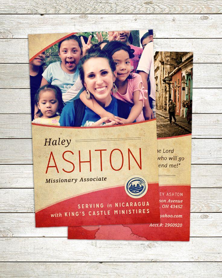 ✈︎ Medium Prayer Card | #MissionsLinked | missionslinked.com/missionary-prayer-cards/medium-prayer-cards/