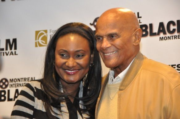 Welcoming Legendary Harry Belafonte at the Montreal Black Film Festival was nothing else than a blessing! Such a charming and generous human being!