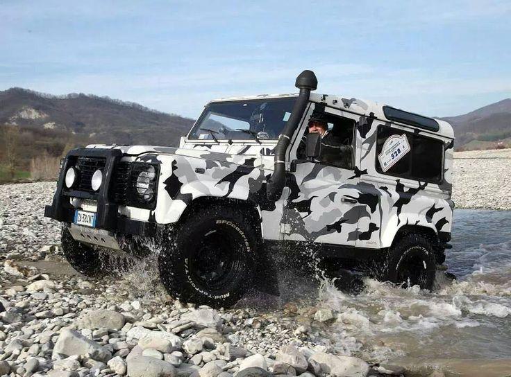 Defender 90 Camo Land Rover Defender Pinterest