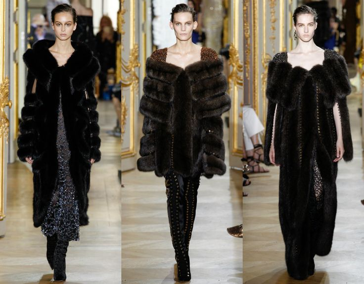 высокая прическа прически 2017 J.Mendel Couture