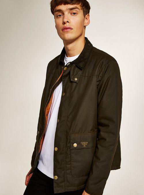 9bd8356da73d BARBOUR BEACON Green Wax Jacket   Good stuff   Men's coats, jackets ...
