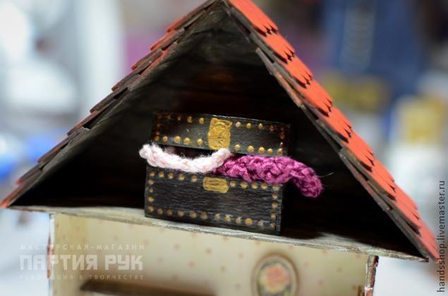 Сундук для кукольных сокровищ! - Ярмарка Мастеров - ручная работа, handmade