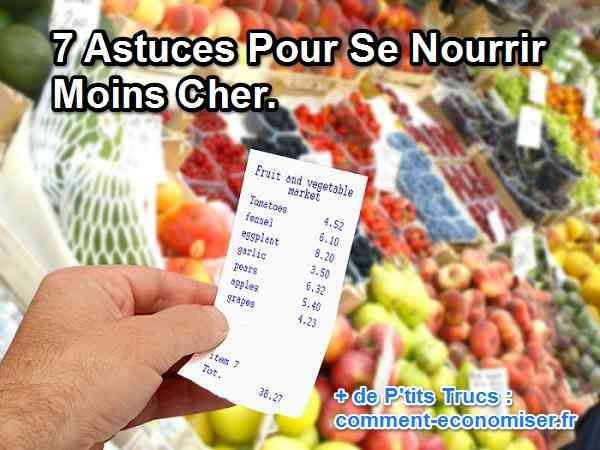7 astuces pour manger moins cher