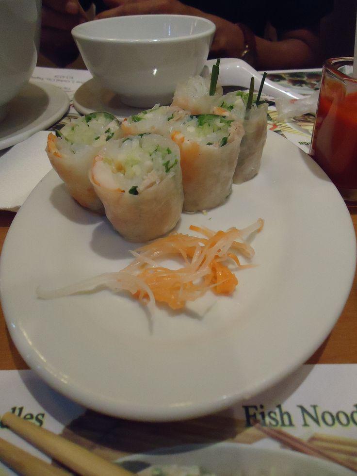 Vietnamese Rice and Shrimp Roll @ Pho Bac, Robinson's Ermita