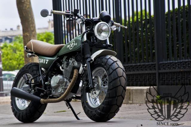 1 SUZUKI VANVAN VAN-VAN TWO-14 Army MFC Design - Préparation motos, peinture, design, tuning, Suzuki - Kawasaki