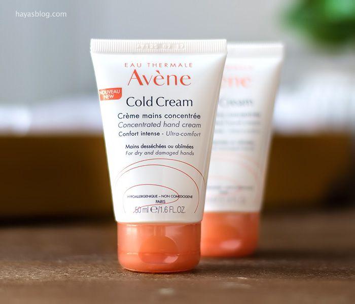 مشترياتي من موقع صيدلية كوكون سنتر الفرنسية Cocooncenter Cold Cream Hand Cream Eau Thermale Avene