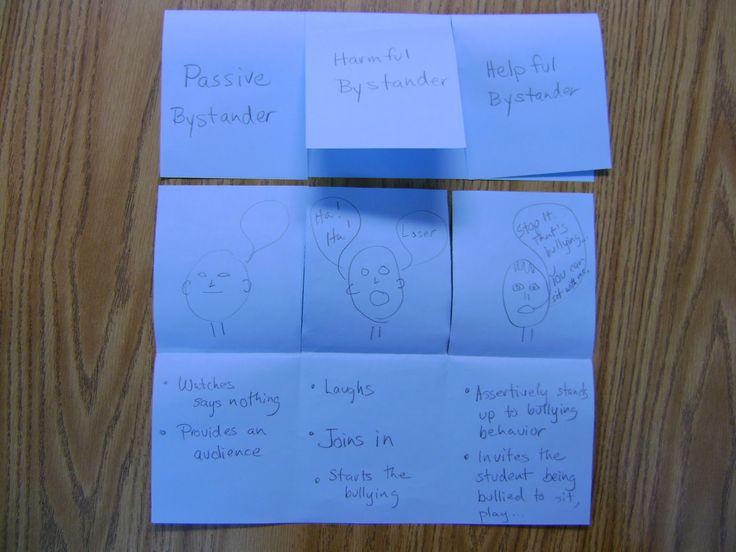 Elementary Counseling Blog: Bullying Foldable