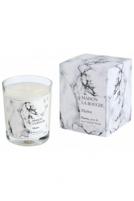 Bougie marbre - Maison La Bougie