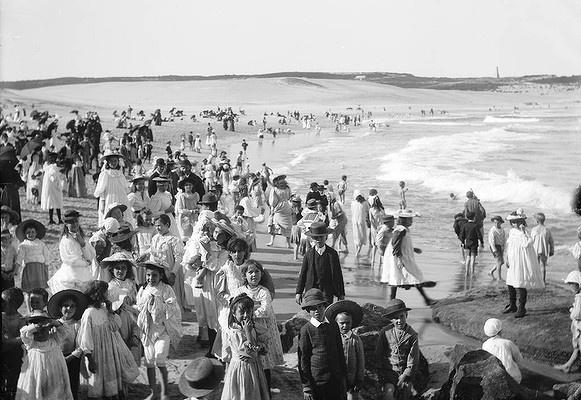Bondi Beach, c.1890s. Photo: Tyrell Collection, The Powerhouse Museum