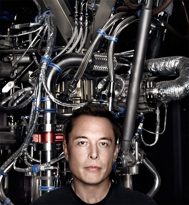 Elon Musk interviewed by Chris Anderson for WIRED