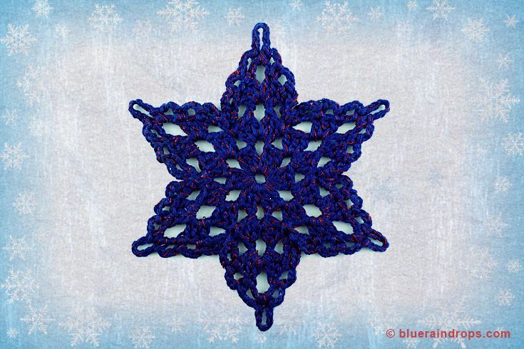 Make it snow this Christmas with beautiful crocheted snowflakes. See tutorial