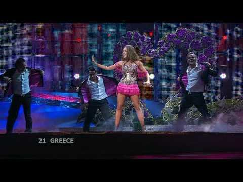 Eurovision 2008 Final 21 Greece *Kalomira* *Secret Combination* 16:9 HQ - YouTube