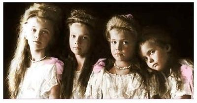 The Romanov children. Butchered by the Bolsheviks.
