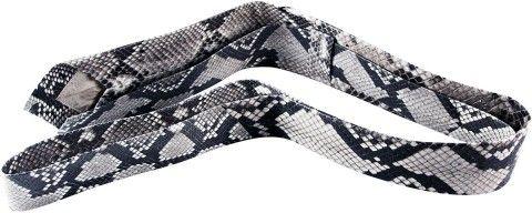Γνήσια πύθωνα δέρμα φιδιού λαιμό γραβάτα PTNT002 Φυσικό