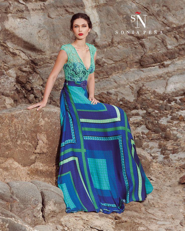 Vestidos de Fiesta, Vestidos de madrina, Vestidos para boda, Vestidos de Coctel 2017. Colección Primavera Verano Completa 2017 Scarlett. Sonia Peña - Ref. 1170196