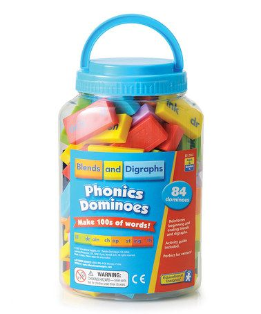 Take a look at this Blends & Digraphs Phonics Dominoes on zulily today!