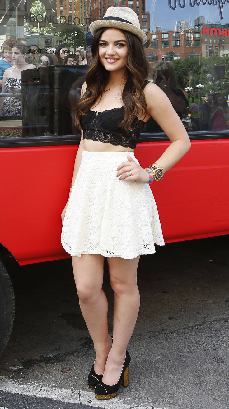 Best 25 Lucy Hale 2014 Ideas On Pinterest Lucy Hale Tumblr Aria Montgomery Hair And