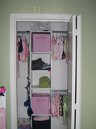 Small Closet Organization for the boys room