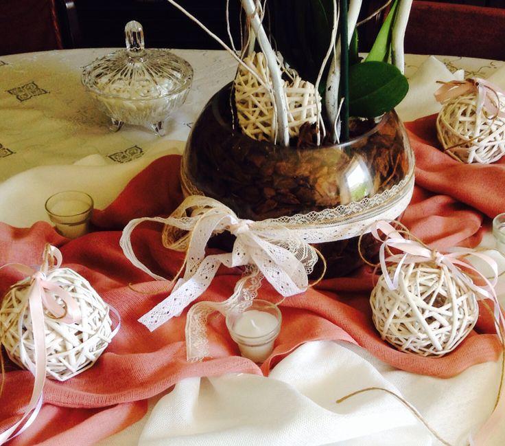 Στολισμός γάμου - σπίτι της νύφης / wedding decoration - the bride's home (by Eva Koss)