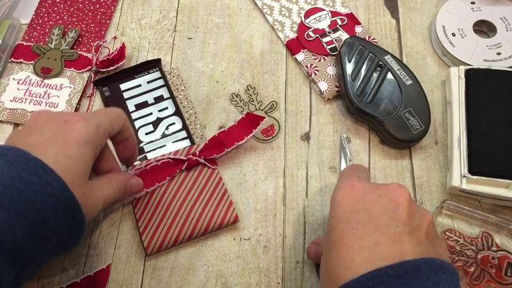 How to make a Quick and EASY Christmas Treat Pouch