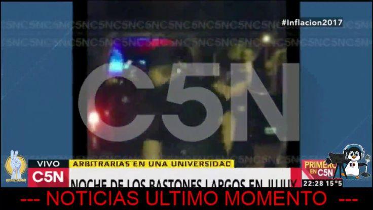 URGENTE LA POLICIA DETUVO A 2 ESTUDIANTES UNIVERSITARIOS EN JUJUY
