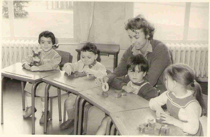 Photo de classe Ecole Jean Moulin de 1958 : Maternelle