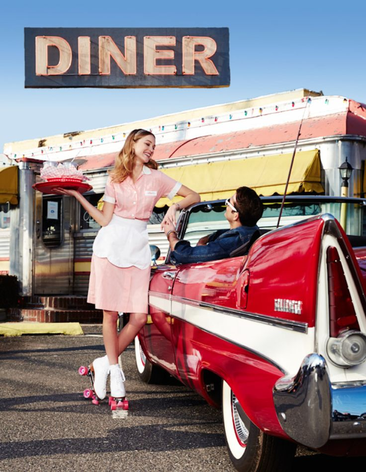 It's time to hit the road again for the second leg of our American Icons journey. First stop: The Roadside Diner, only on mblog.macys.com
