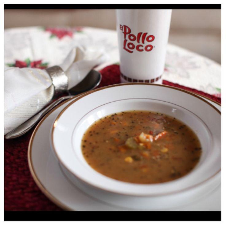 El Pollo Loco Chicken Tortilla Soup No Tortilla Strips