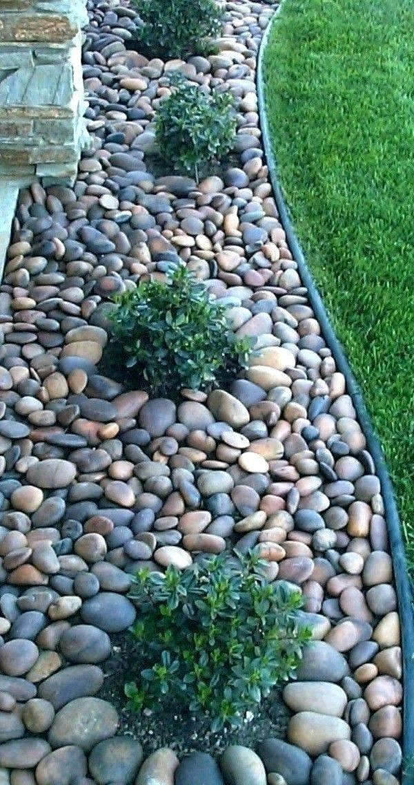 25 Best Ideas About River Rock Gardens On Pinterest Rock Garden
