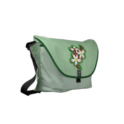 #Pear Blossom Small Messenger Bag - #flower gifts floral flowers diy
