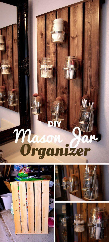 Mason Jar Bathroom Decorating Ideas best 25+ mason jar bathroom ideas only on pinterest | mason jar