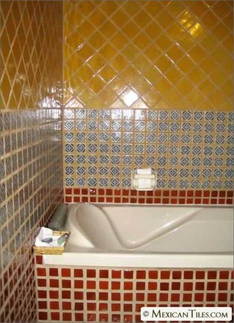 1000 images about tiles on pinterest mexicans mexican tiles and tile - Bathroom tiles talavera ...