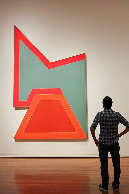 Frank Stella by badskirt, via Flickr