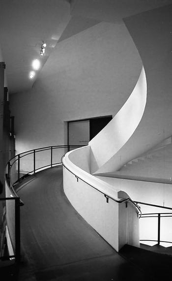 Designed by Steven Holl. Kiasma Museum of Contemporary Art. Architecture. Helsinki. Finland.